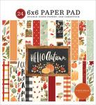 Hello Autumn 6x6 Paper Pad - Carta Bella - PRE ORDER
