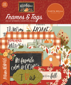 Hello Autumn Frames & Tags Ephemera - Carta Bella - PRE ORDER