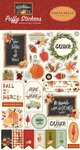 Hello Autumn Puffy Stickers - Carta Bella