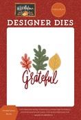 Grateful Leaves Die Set - Hello Autumn - Carta Bella