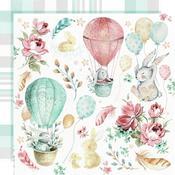 Cuddles Paper - Little Treasures - Kaisercraft