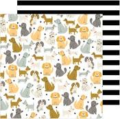 Puppy Park Paper - The Avenue - Pebbles