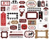 A Lumberjack Christmas Frames & Tags - Echo Park Ephemera Cardstock Die-Cuts. Perfect for all your paper crafting needs! This package contains 33 pieces. Acid and lignin free.