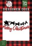 Christmas Sleigh Die Set - A Lumberjack Christmas - Echo Park