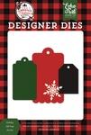 Holiday Gift Tags Die Set - A Lumberjack Christmas - Echo Park