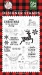 Cookies for Santa Stamp Set - A Lumberjack Christmas - Echo Park
