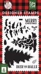 Layered Pine Tree Stamp Set - A Lumberjack Christmas - Echo Park