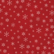 Snowflakes Paper - Farmhouse Christmas - Carta Bella