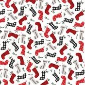 Stockings Paper - Farmhouse Christmas - Carta Bella