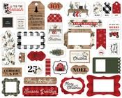 Farmhouse Christmas Frames & Tags - Carta Bella - PRE ORDER