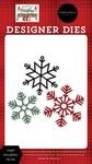 Joyful Snowflakes Die Set - Farmhouse Christmas - Carta Bella - PRE ORDER