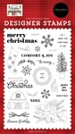 Peace Love Joy Stamp Set - Farmhouse Christmas - Carta Bella