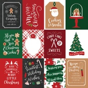 3X4 Journaling Cards Paper - A Gingerbread Christmas - Echo Park