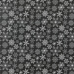 Snowflakes Paper - A Gingerbread Christmas - Echo Park - PRE ORDER