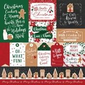 Multi Journaling Cards Paper - A Gingerbread Christmas - Echo Park