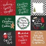 4X4 Journaling Cards Paper - A Gingerbread Christmas - Echo Park - PRE ORDER