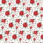 Poinsettia Paper - A Gingerbread Christmas - Echo Park