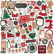 A Gingerbread Christmas Element Sticker - Echo Park