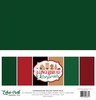 A Gingerbread Christmas Solids Kit - Echo Park
