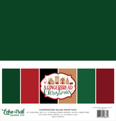 A Gingerbread Christmas Solids Kit - Echo Park - PRE ORDER
