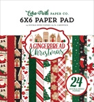 A Gingerbread Christmas 6x6 Paper Pad - Echo Park - PRE ORDER