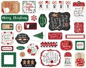 A Gingerbread Christmas Ephemera - Echo Park - PRE ORDER