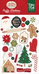 A Gingerbread Christmas Puffy Stickers - Echo Park - PRE ORDER