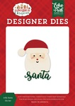 Jolly Santa Die Set - A Gingerbread Christmas - Echo Park
