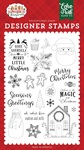 Cookies and Milk Stamp Set - A Gingerbread Christmas - Echo Park