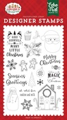 Cookies and Milk Stamp Set - A Gingerbread Christmas - Echo Park - PRE ORDER