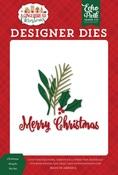 Christmas Boughs Die Set - A Gingerbread Christmas - Echo Park - PRE ORDER