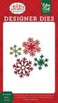 Snowflake Magic Die Set - A Gingerbread Christmas - Echo Park