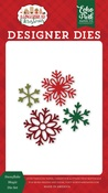 Snowflake Magic Die Set - A Gingerbread Christmas - Echo Park - PRE ORDER