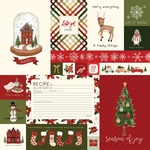 Journaling Cards Paper - Hello Christmas - Carta Bella - PRE ORDER