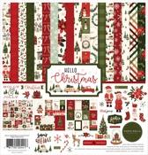Hello Christmas Collection Kit - Carta Bella - PRE ORDER