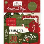 Hello Christmas Frames & Tags - Carta Bella