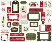 Hello Christmas Frames & Tags - Carta Bella - PRE ORDER