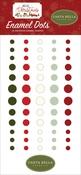 Hello Christmas Enamel Dots - Carta Bella - PRE ORDER
