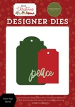 Peace Tags Die Set - Hello Christmas - Carta Bella
