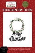 Merry Christmas Wreath Die Set - Hello Christmas - Carta Bella