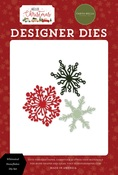 Whimsical Snowflakes Die Set - Hello Christmas - Carta Bella