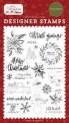 Christmas Greetings Stamp Set - Hello Christmas - Carta Bella