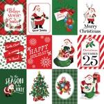 3X4 Journaling Cards Paper - Dear Santa - Carta Bella - PRE ORDER
