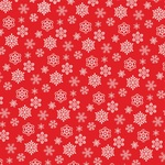 Snowflakes Paper - Dear Santa - Carta Bella - PRE ORDER