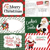 4X6 Journaling Cards Paper - Dear Santa - Carta Bella - PRE ORDER