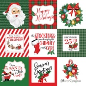 4X4 Journaling Cards Paper - Dear Santa - Carta Bella - PRE ORDER