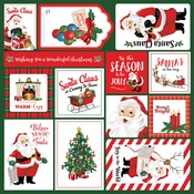 Multi Journaling Cards Paper - Dear Santa - Carta Bella - PRE ORDER