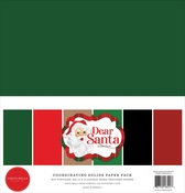 Dear Santa Solids Kit - Carta Bella - PRE ORDER