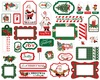 Dear Santa Frames & Tags - Carta Bella Ephemera Cardstock Die-Cuts. Perfect for all your paper crafting needs! This package contains 33 pieces. Acid and lignin free.