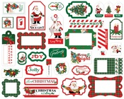 Dear Santa Frames & Tags - Carta Bella - PRE ORDER